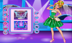 Barbie Rock N Royals Style Dress Up Game screenshot 1/3