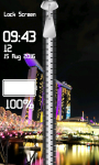 Zipper Lock Screen Big Cities screenshot 4/6