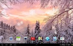 Snowfall Live Wallpaper actual screenshot 3/6