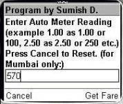 Auto Fares Mumbai screenshot 1/1