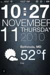 Typophone Clock ( Weather ) screenshot 1/1