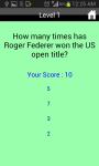 Unofficial US Open Tennis Quiz screenshot 4/4