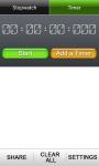 Lap Timer And StopWatch screenshot 5/6
