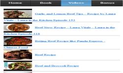 Beef Recipes App screenshot 3/3