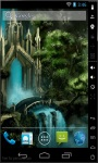 Waterfall Castle Magic Live Wallpaper screenshot 1/2