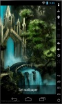 Waterfall Castle Magic Live Wallpaper screenshot 2/2