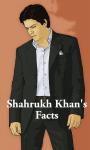 Shahrukh Khan Facts 240x320 Touch screenshot 1/1