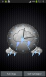 Storm Clock Theme screenshot 3/6