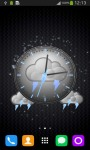 Storm Clock Theme screenshot 4/6