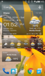 Weather and Clock Widget For Android screenshot 1/6