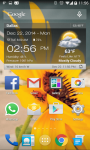 Weather and Clock Widget For Android screenshot 3/6