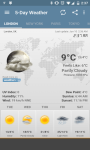 Weather and Clock Widget For Android screenshot 4/6