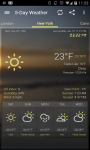 Weather and Clock Widget For Android screenshot 5/6