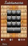 Sudokumaster Game screenshot 3/3