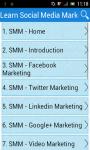 Learn Social Media Marketing screenshot 1/3