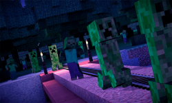 Minecraft Story Mode HD screenshot 2/3