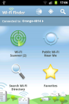 Wifi Finder for Android screenshot 1/2