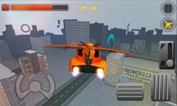 Free Sports Car Flying Simulator screenshot 1/3