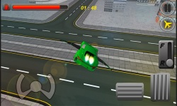 Free Sports Car Flying Simulator screenshot 2/3