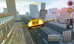 Free Sports Car Flying Simulator screenshot 3/3