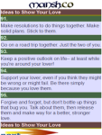 101 Ideas to Show Your Love screenshot 2/2