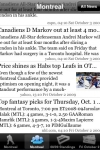 Professional Hockey News screenshot 1/1
