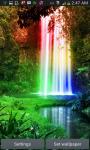 Jungle Rainbow Waterfall LWP screenshot 1/3