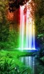 Jungle Rainbow Waterfall LWP screenshot 2/3