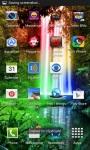 Jungle Rainbow Waterfall LWP screenshot 3/3