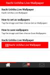 Itachi Uchiha Live Wallpaper screenshot 2/5