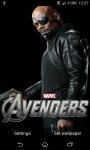 Avengers Live Wallpaper screenshot 1/6