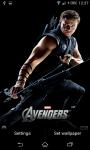 Avengers Live Wallpaper screenshot 6/6