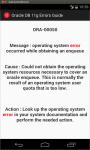 Oracle DB 11g Errors Guide screenshot 5/5
