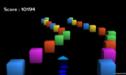 Cube Rocket 3D screenshot 3/4