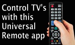 Smart Univeral TV Control screenshot 3/5