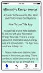 Alternative Energy Sources -iOS screenshot 1/5