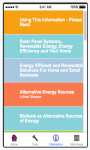 Alternative Energy Sources -iOS screenshot 2/5
