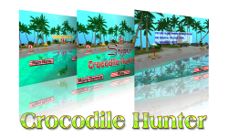 Sniper Crocodile Hunter 3D screenshot 1/6