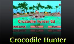 Sniper Crocodile Hunter 3D screenshot 3/6