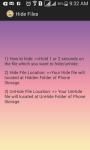 file hide hot screenshot 5/6