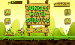 Jungle Math Survive screenshot 2/6