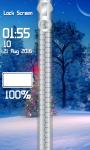 Xmas Tree Zipper Lock Screen screenshot 4/6