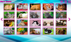Big puzzles with cats screenshot 1/6