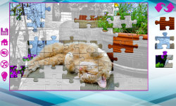 Big puzzles with cats screenshot 2/6