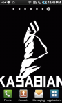 Kasabian Live Wallpaper screenshot 1/3