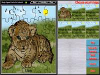 Magic Jigsaw Puzzle Lite screenshot 4/5