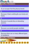 101 Benefits of Meditation screenshot 2/2