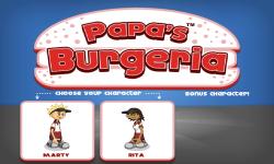 Papa's Burgeria screenshot 2/5