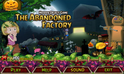 Free Hidden Object Game - The Abandoned Factory screenshot 1/4