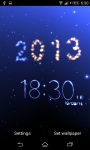 Christmas Count Down Live Wallpaper screenshot 2/5